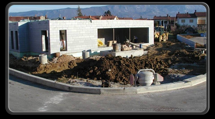 gradnja pasivne hiše 9