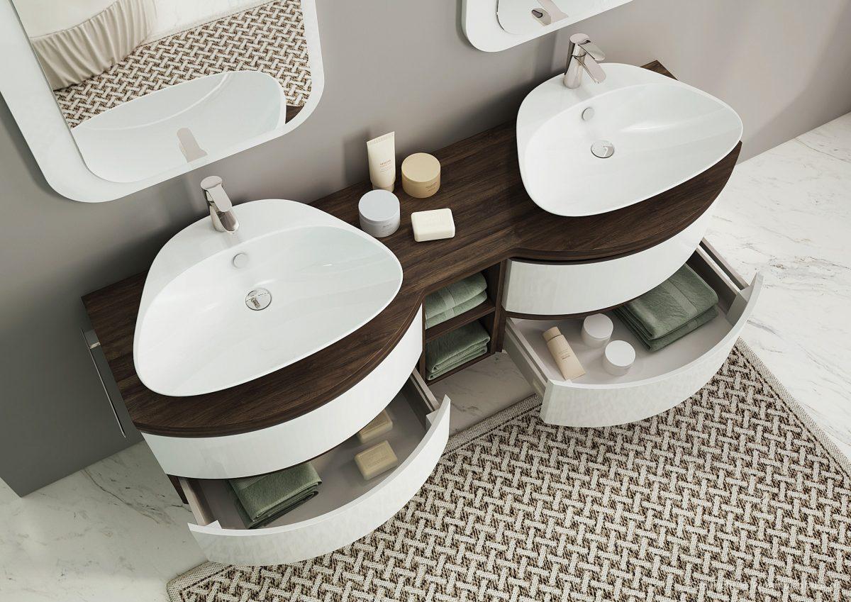 okrogle kopalniške omarice