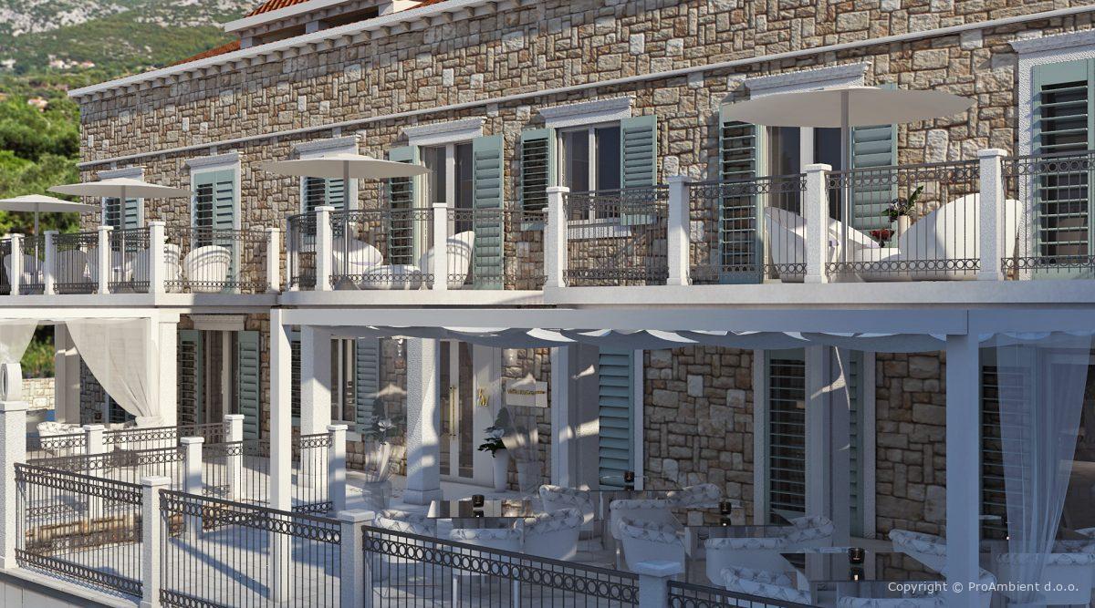 Arhitekturno Projektiranje Kamnita Fasada2