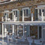 Arhitekturno Projektiranje Kamnita Fasada istra rdeč