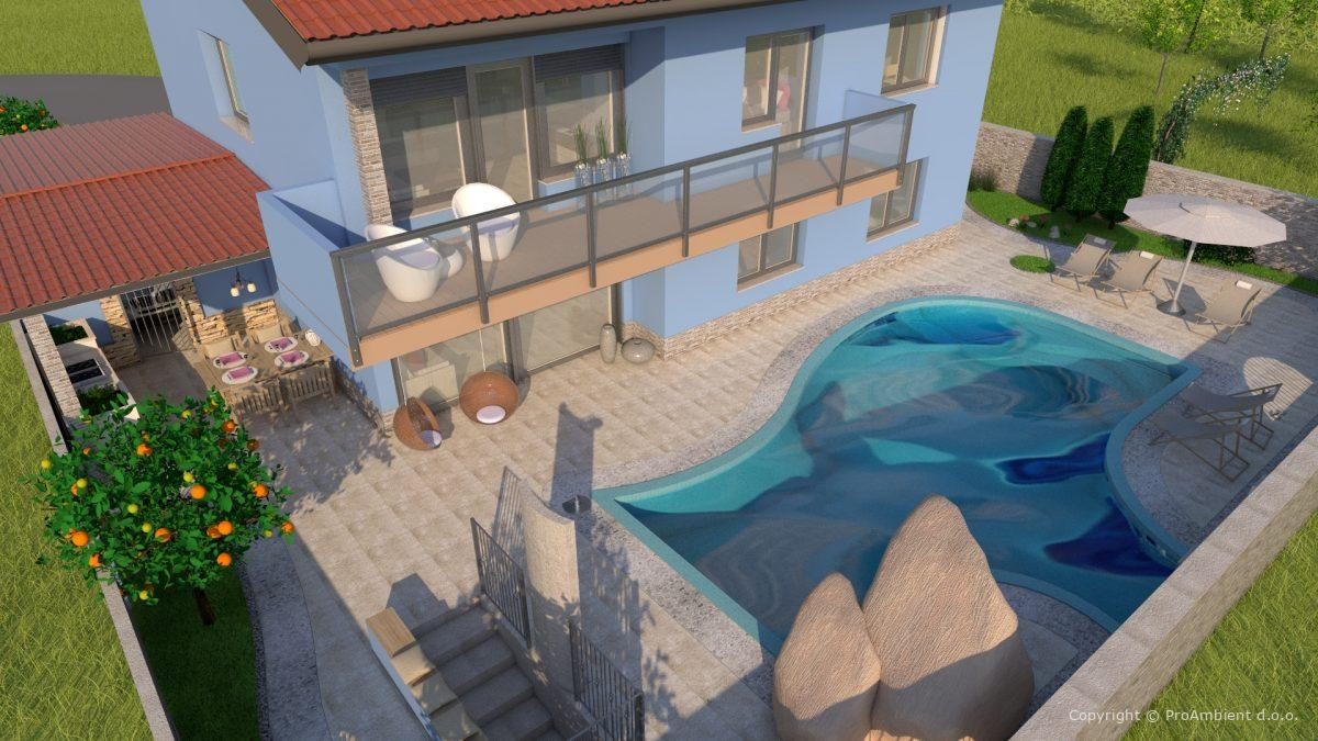 Barva Fasade Hiše11