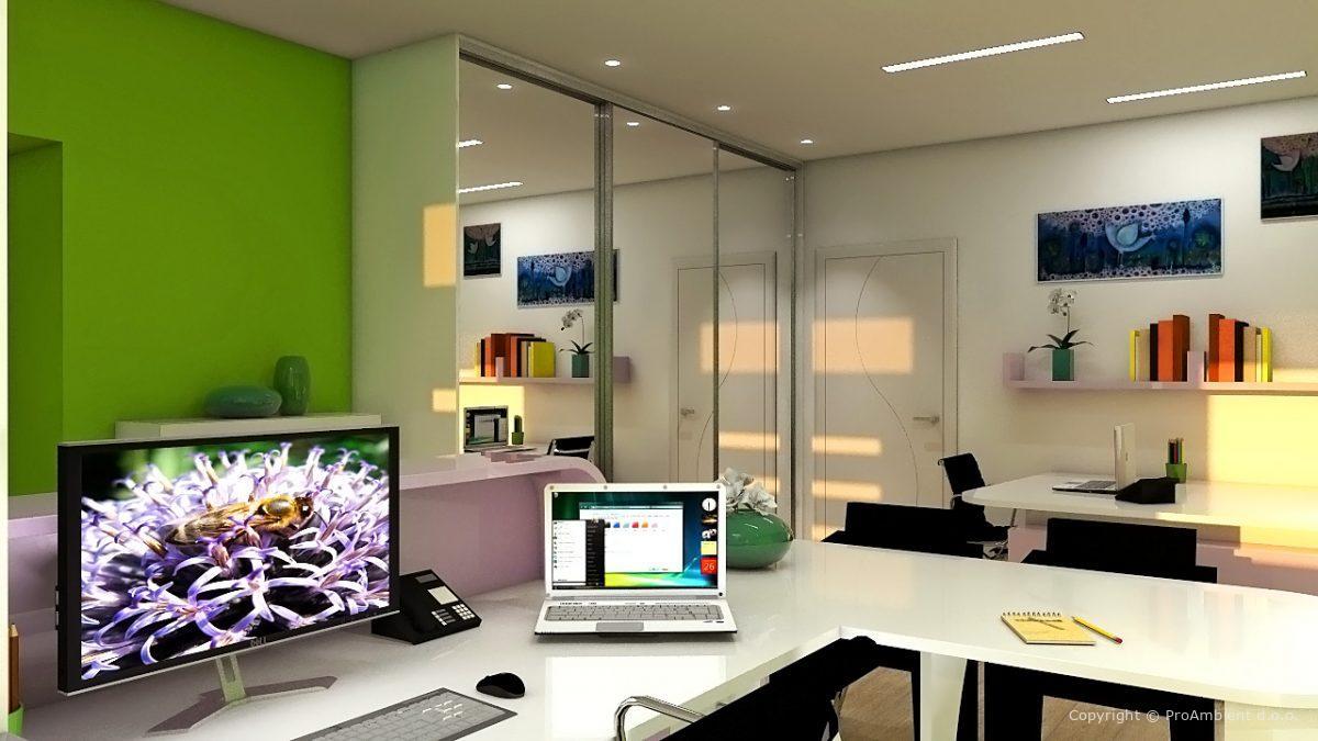 Prenova pisarne v hiši