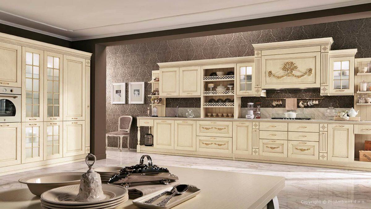 Stilna Kuhinja Beige Italijanski design