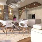 Notranja Oprema Hiše V Modernem Stilu