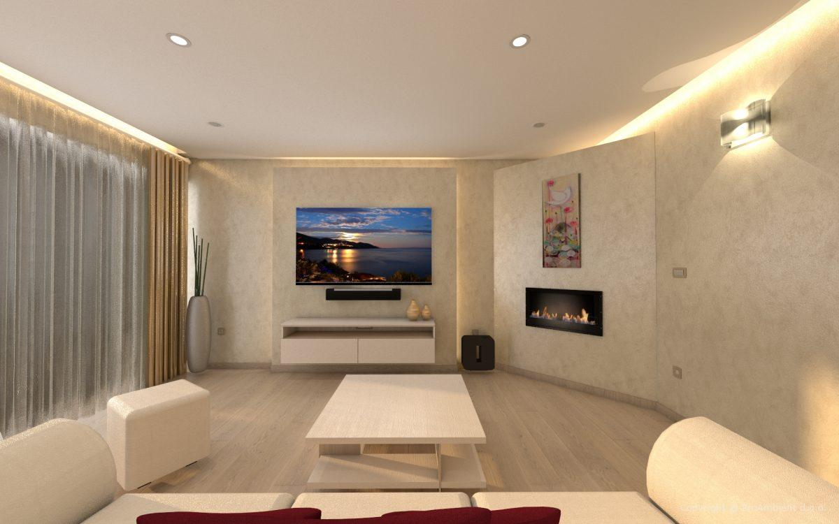 Projektiranje Razsvetljave Dnevna Soba dnevna svetloba