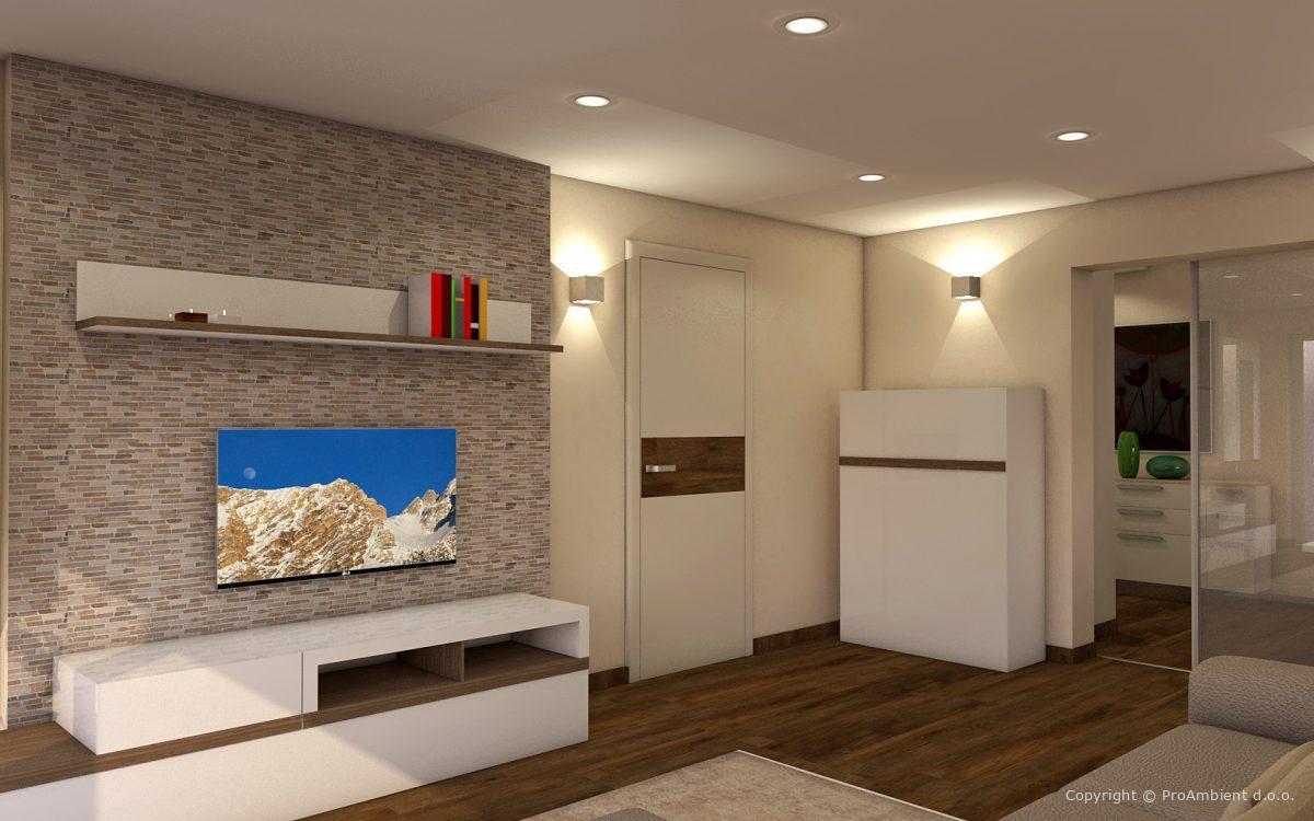 Dekoracija sten v stanovanjski hiši