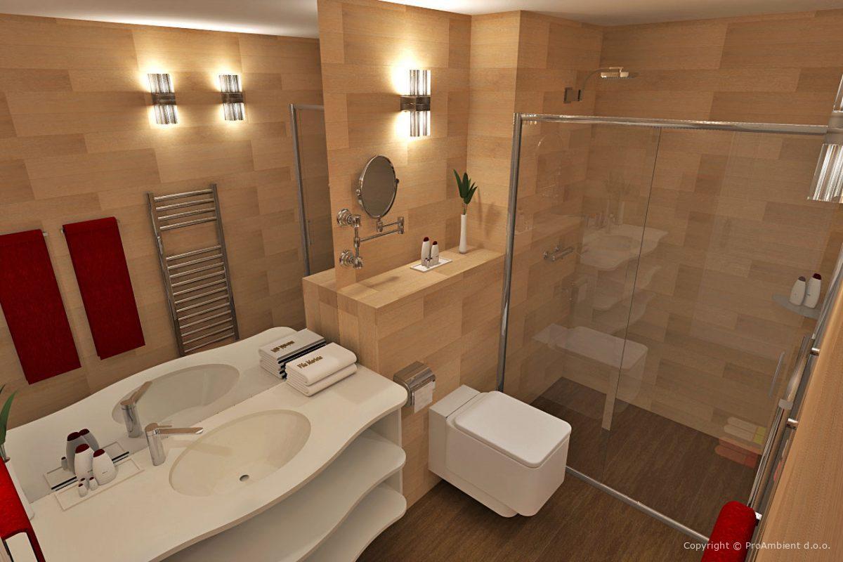 Hotel Vila Dalmacija Kopalnica