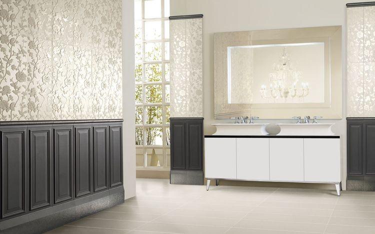Klasično oblikovani kopalniški skledi