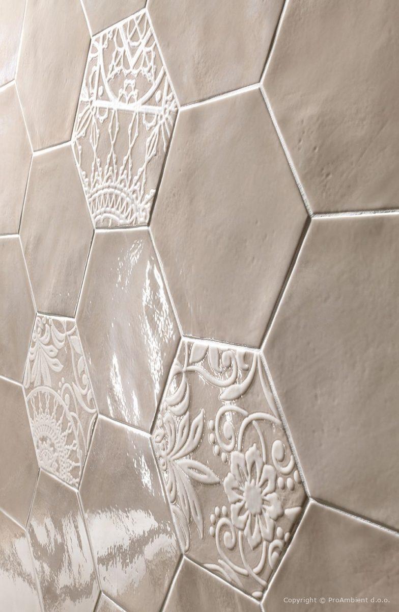 Šestkotna keramika