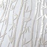 3D svetla keramika v imitaciji bambusovih vej