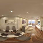 360 Virtualni Pogled Notranje Opreme stanovanje Portoroz