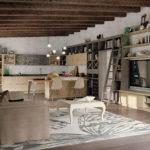 Sodobna Italijanska Stilna Kuhinja In Dnevna Soba Bk8
