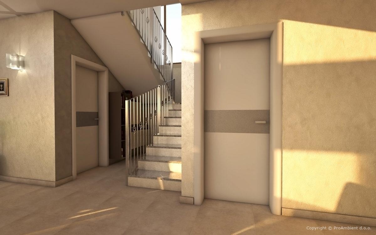 Vrata Poravnana Zaokrozeni Podboji Aluminij2