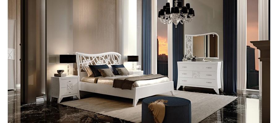 Italijansko pohištvo - masivna spalnica