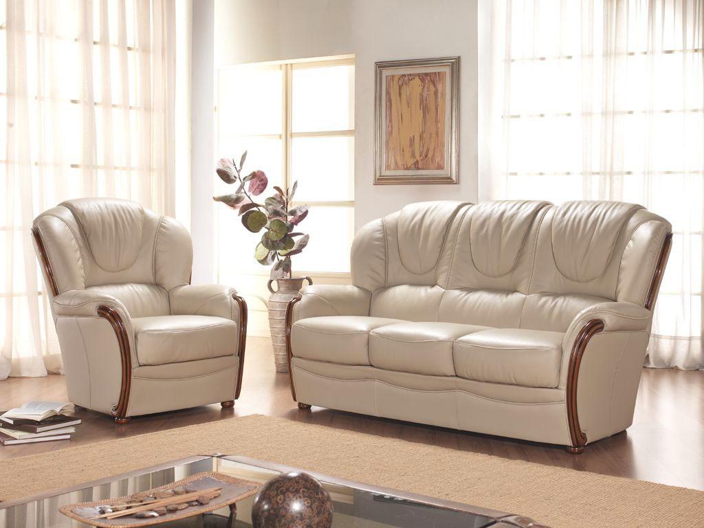 Rustične stilne sedežne - les usnje QM2