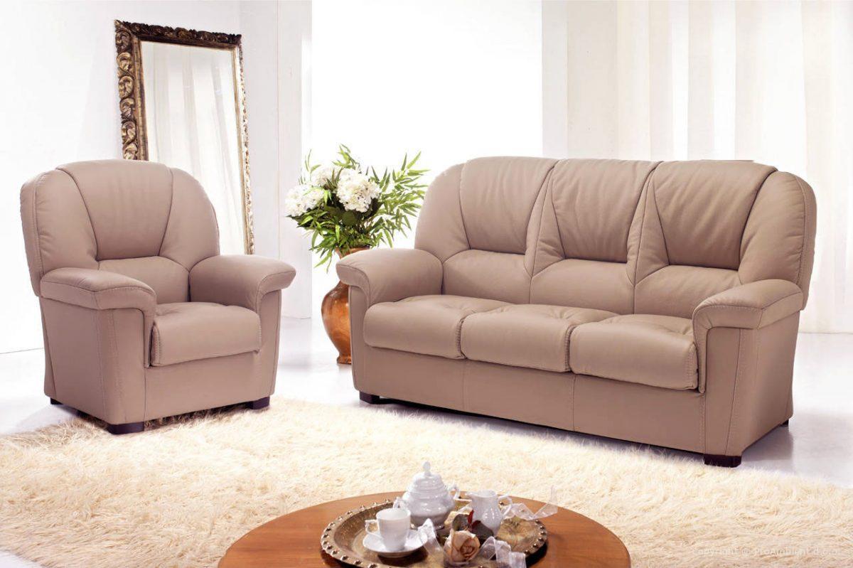 Rustične stilne sedežne - les usnje QM5