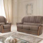 Rustične stilne sedežne - les usnje QM6
