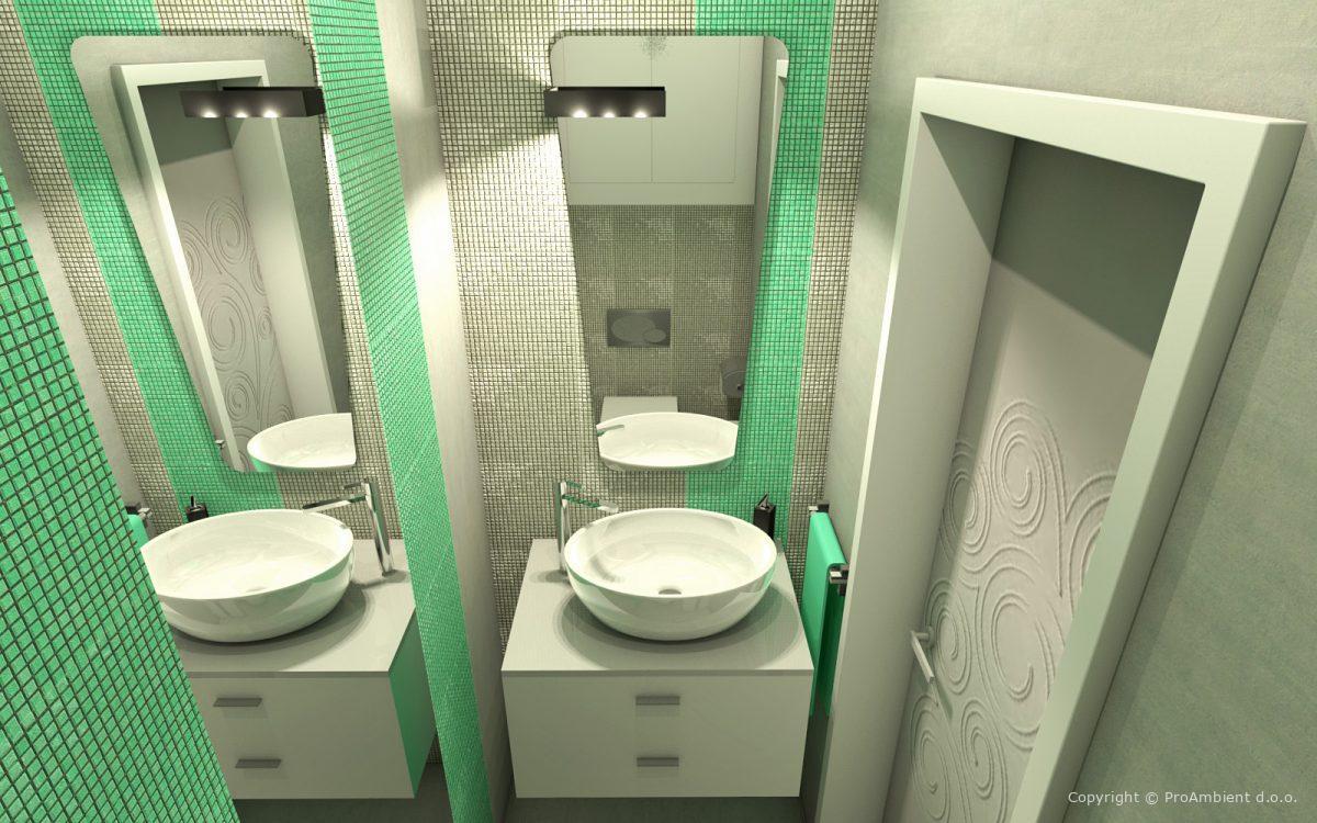 3D Izris kopalniške keramike