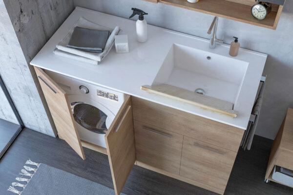 Kopalnica in pralnica v enem
