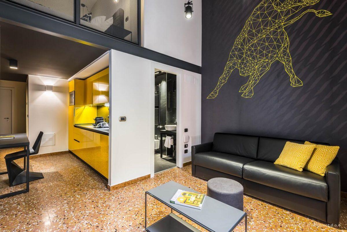 Oprema hotelov in apartmajev