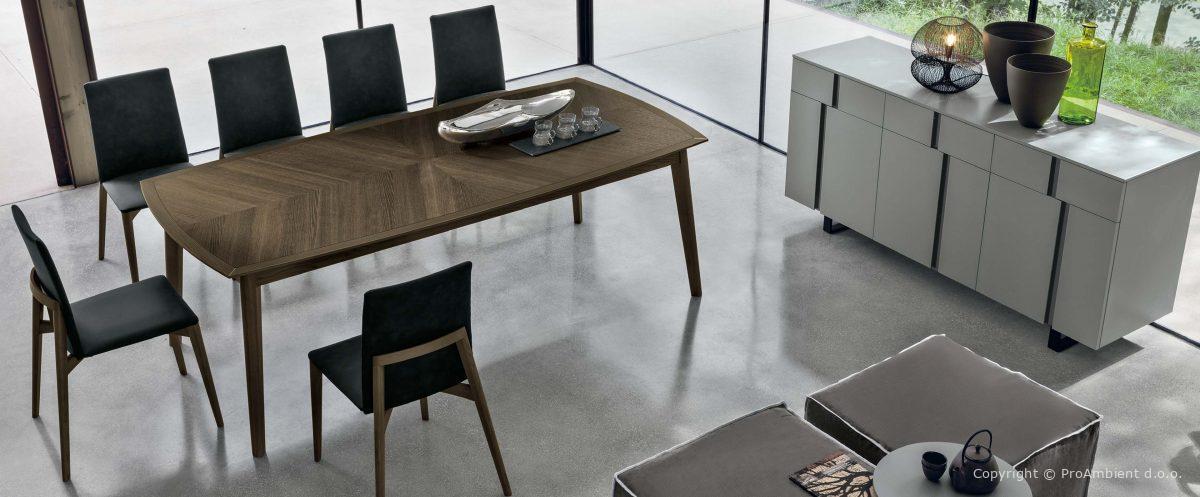 Elegantne jedilniške mize