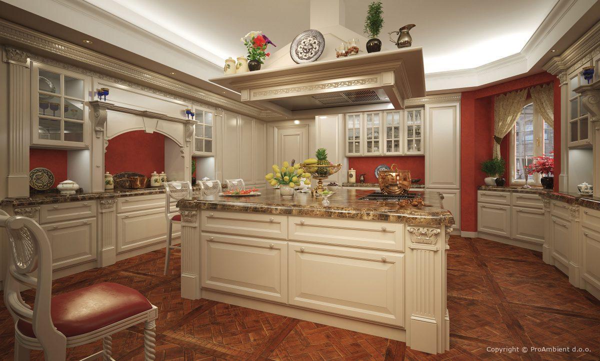 Vrhunske Stilne Masivne Kuhinje Tios12