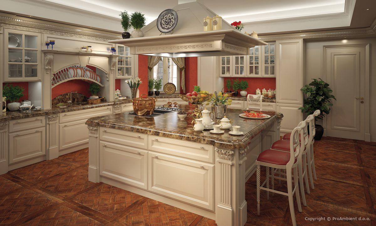 Vrhunske Stilne Masivne Kuhinje Tios4