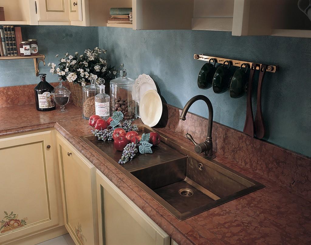 Poslikana Kuhinja Arte Povera Beige Sadje9